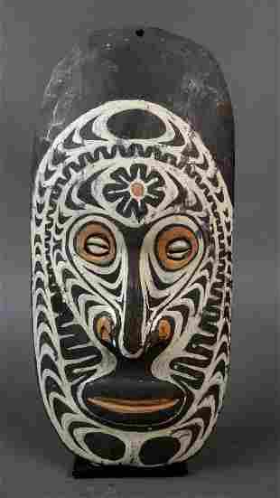 Ancestor wall mask from Torembi village Sepik region