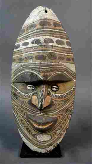 Ancestor wall mask from Avitip village Sepik region