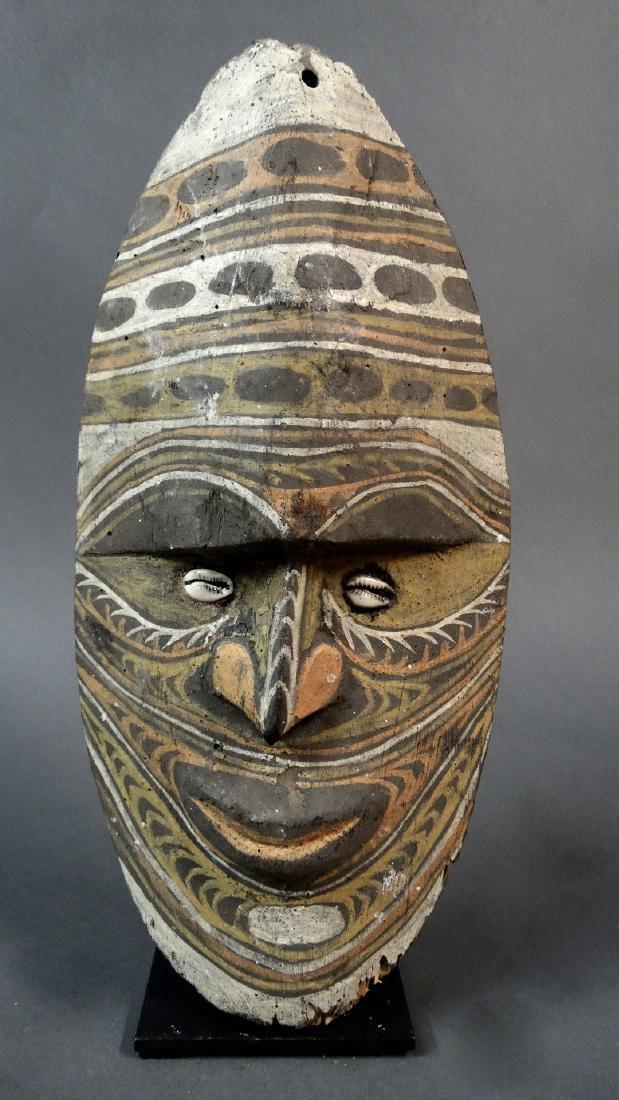 Ancestor wall mask from Avitip village, Sepik region