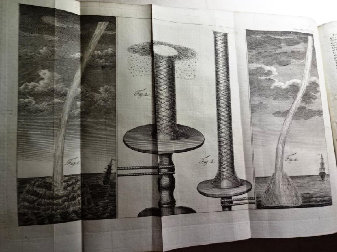 1781 Volume Gentleman Magazine Revolutionary War Plates