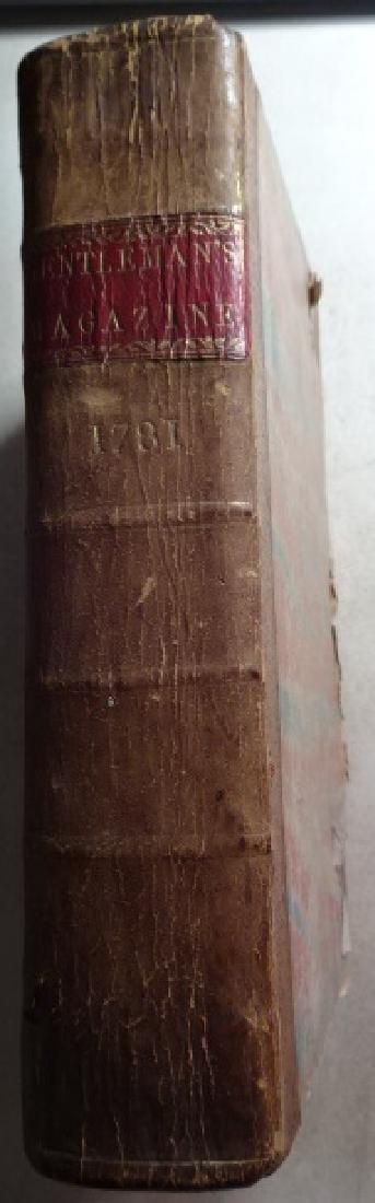 1781 Volume Gentleman Magazine Revolutionary War Plates - 2