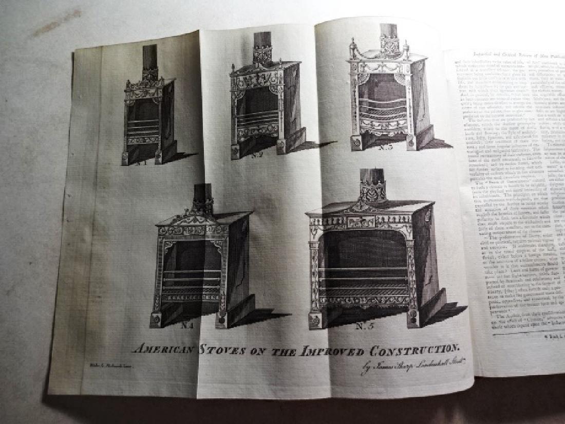 1781 Volume Gentleman Magazine Revolutionary War Plates - 4