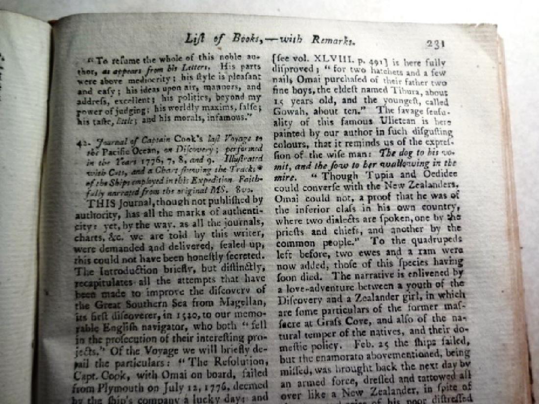 1781 Volume Gentleman Magazine Revolutionary War Plates - 6