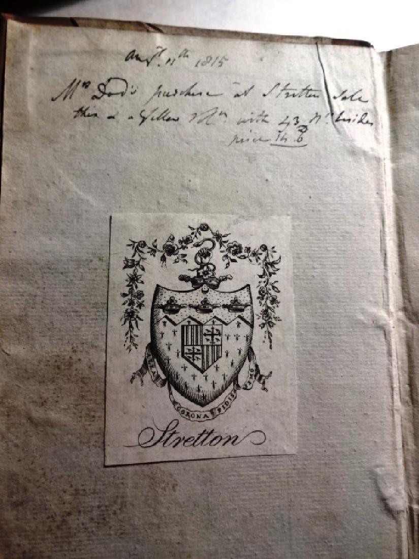 1781 Volume Gentleman Magazine Revolutionary War Plates - 8