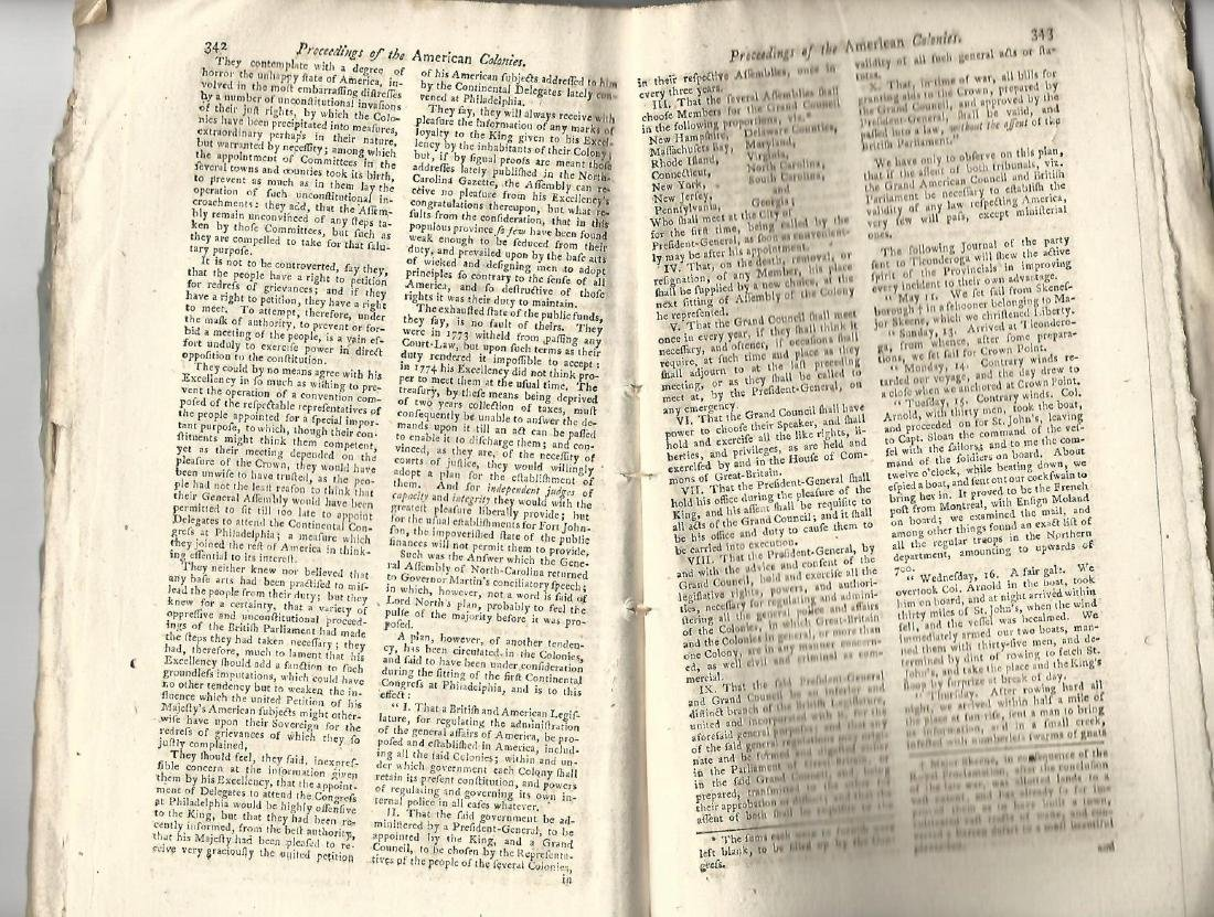 1775 Magazine Account of Bunker Hill Revolutionary War - 4