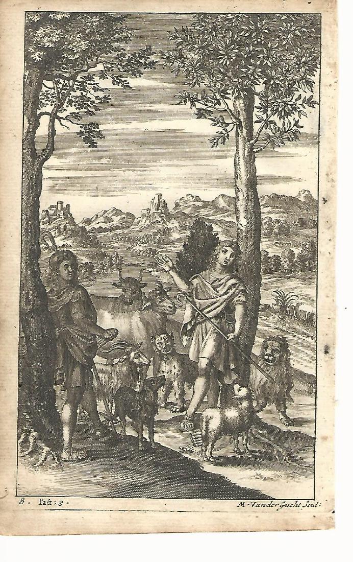1709 Engraving of Pharmaceutria Virgil