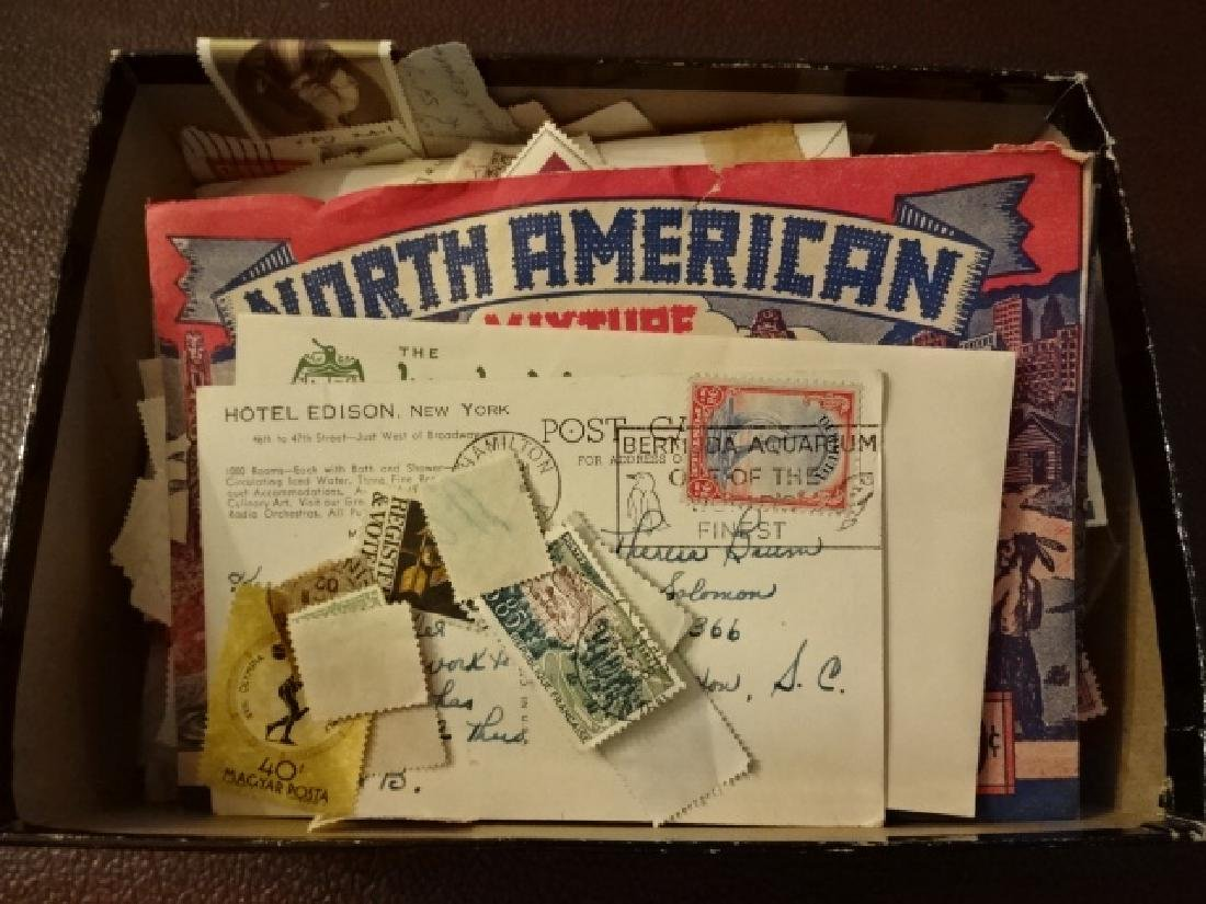 1940's Stamp Collection Accumulation