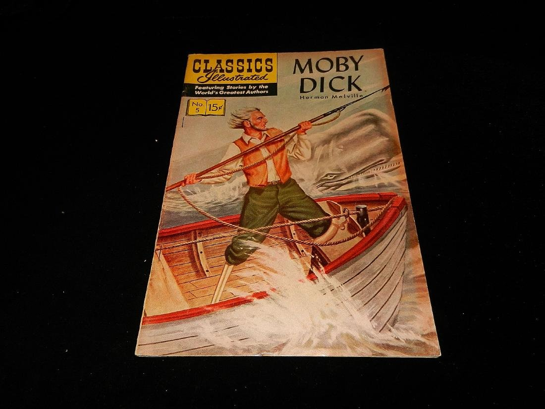 Classics Illustrated Moby Dick #5 1965