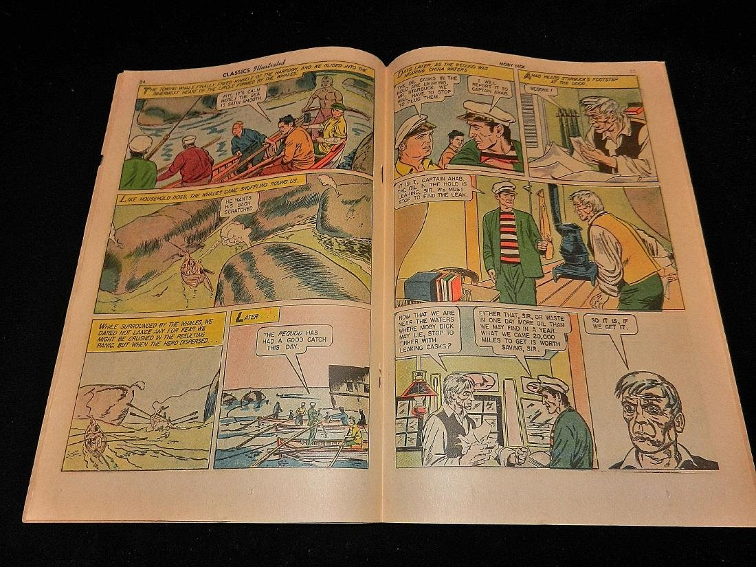 Classics Illustrated Moby Dick #5 1965 - 3