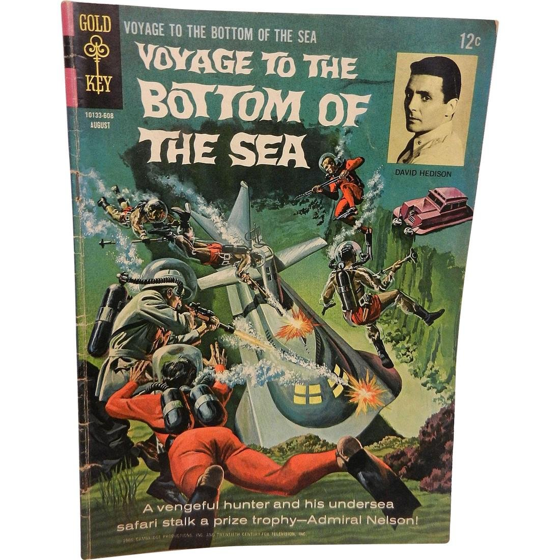 Voyage To The Bottom Of The Sea Dell Issue Aug 1966