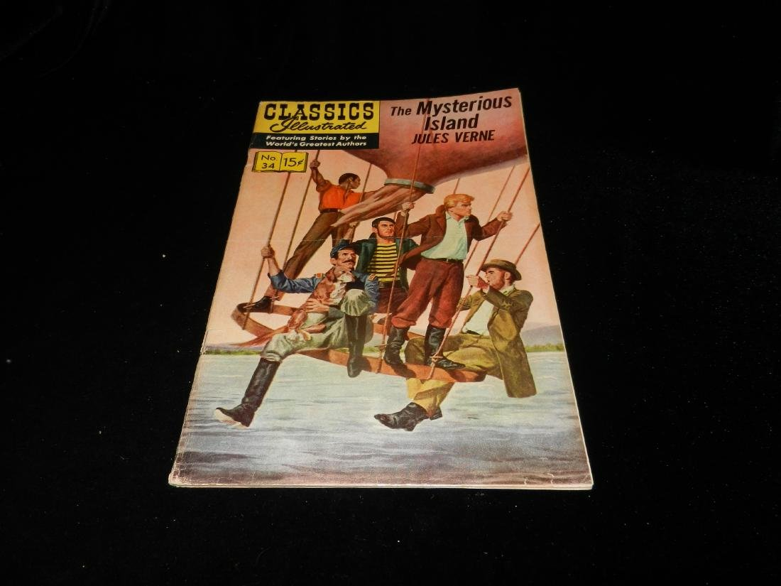 Classic illustrated The Mysterious Island # 34 1964