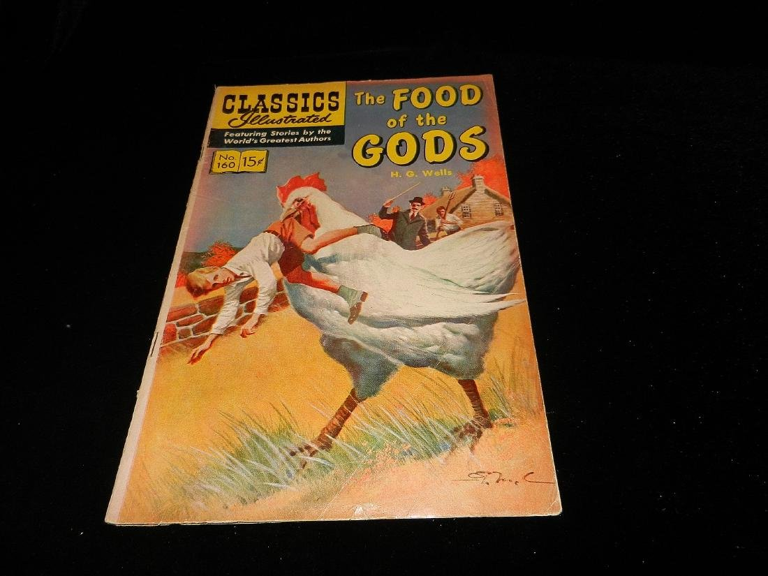 Classics Illustrated #160 the Food of the Gods 1964