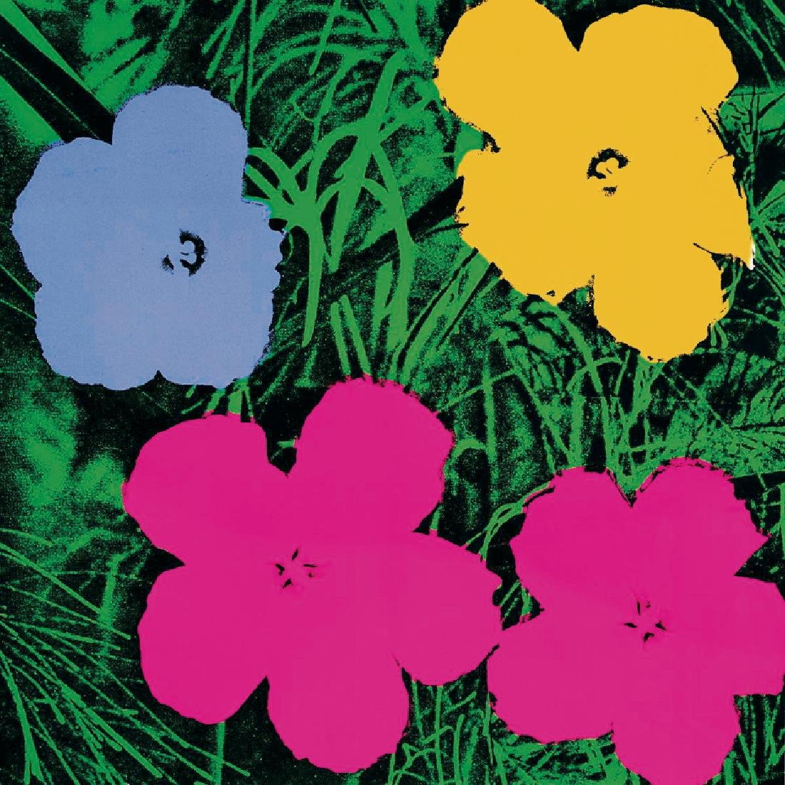 Andy Warhol Offset Lithograph Flowers (Lg) Poster