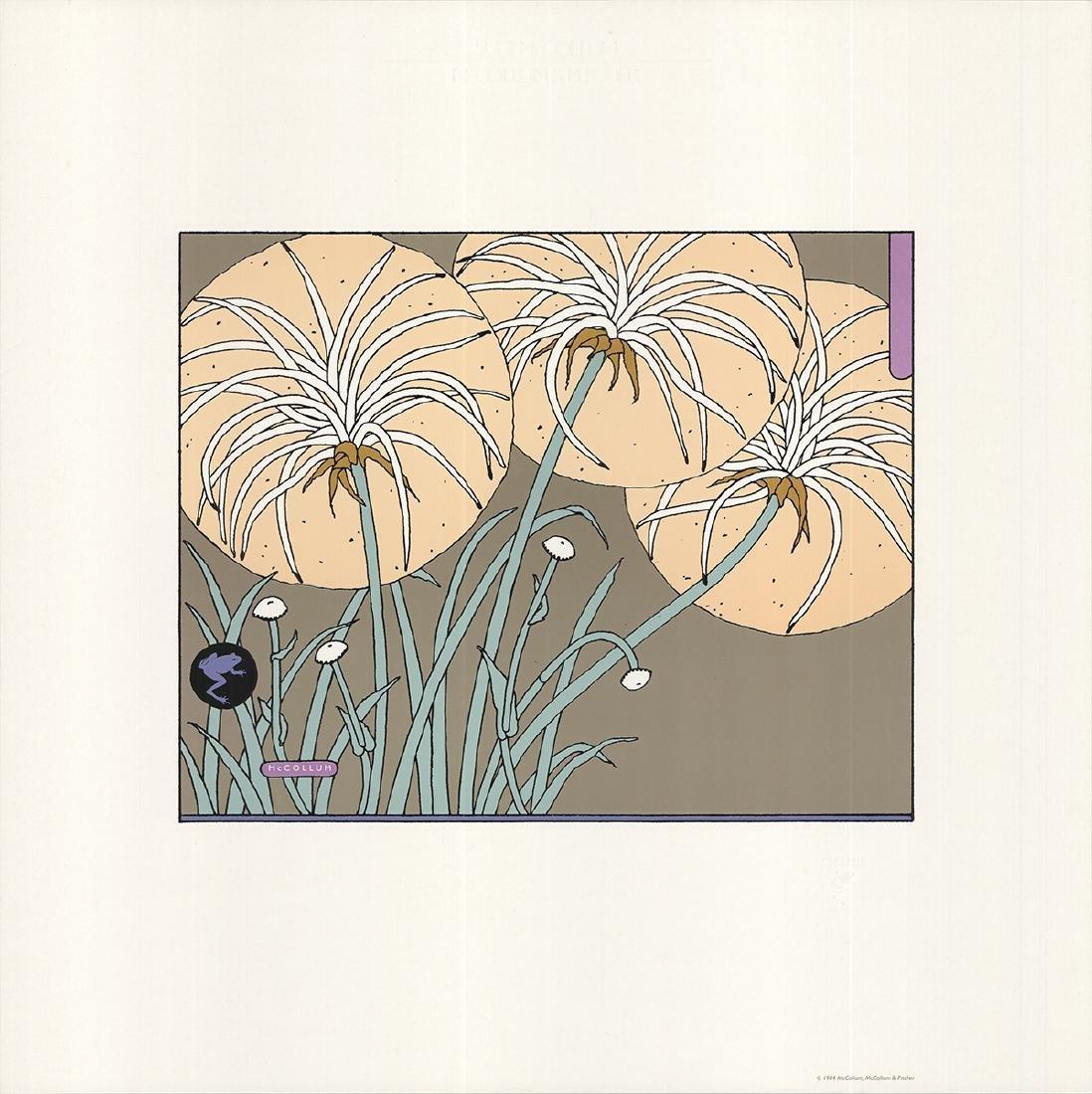 Sudi McCollum Serigraph Flowers