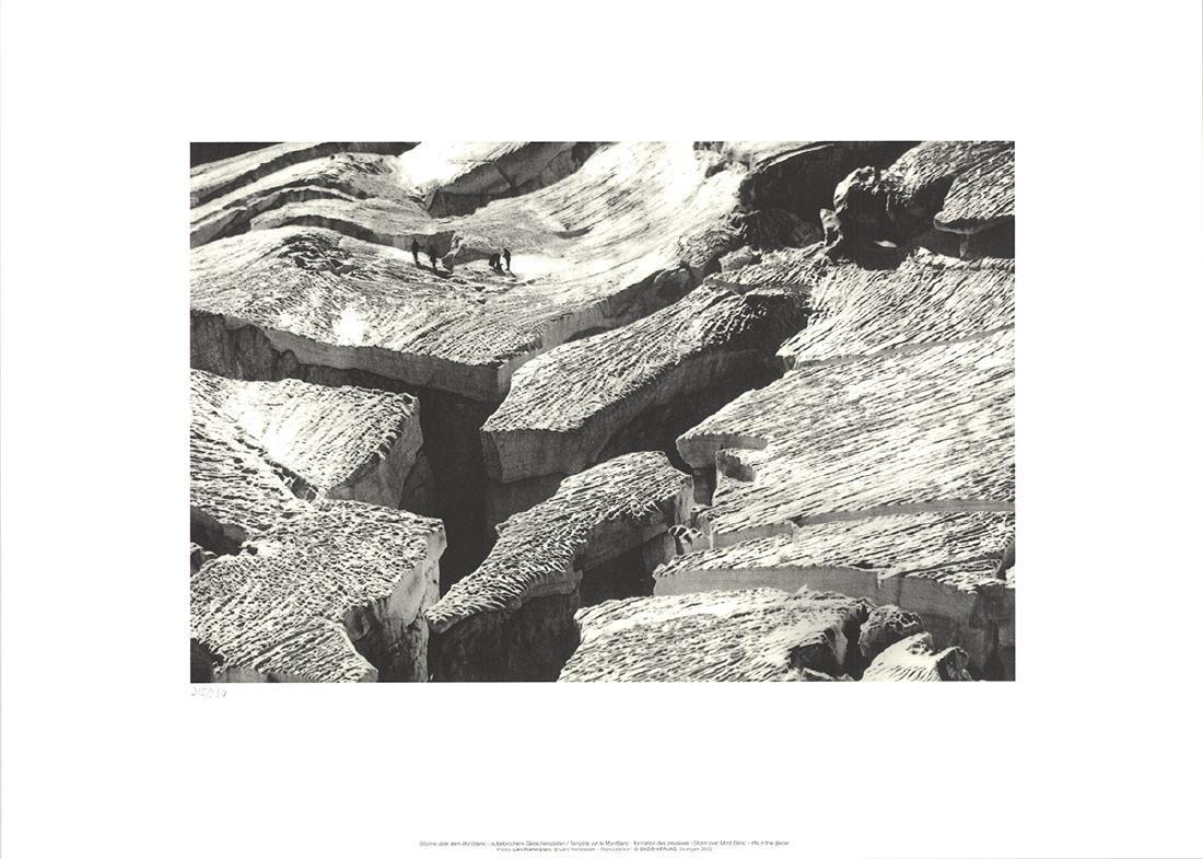 Leni Riefenstahl Offset Lithograph Storm Mont Blanc