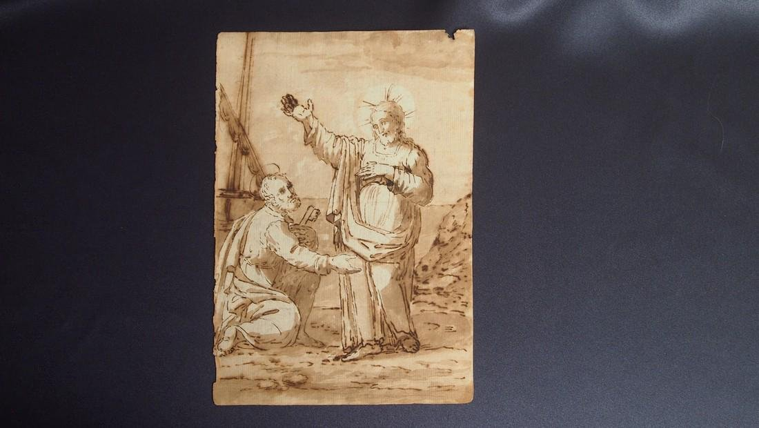 Giovanni Balducci, Attrib. Jesus Blessing Apostle