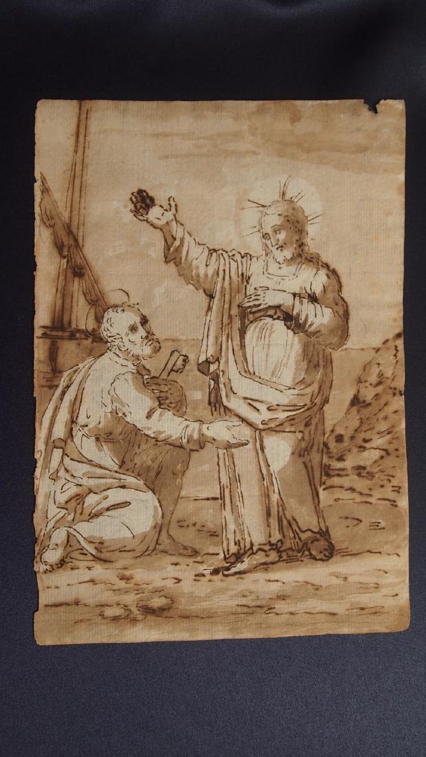Giovanni Balducci, Attrib. Jesus Blessing Apostle - 2