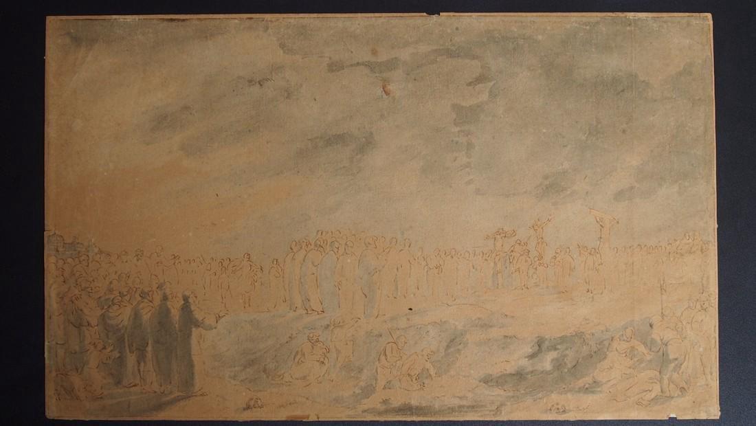 European, Flemish 17-18th Century Crucifixtion Christ