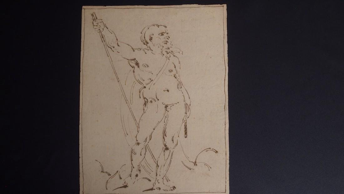Italian School Venetian 16th Century Academic Nude