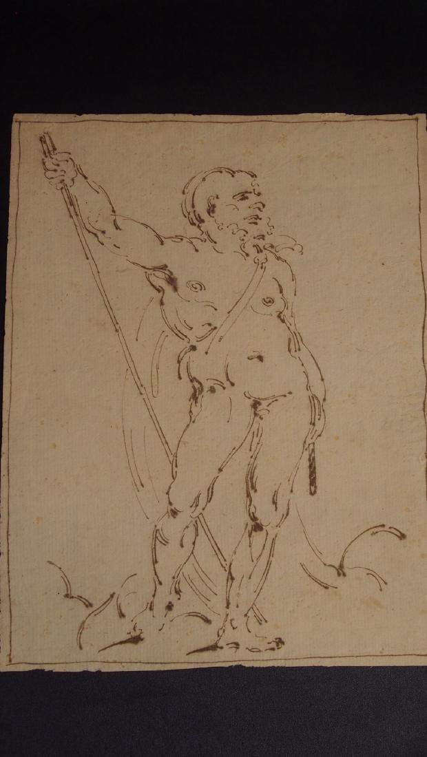 Italian School Venetian 16th Century Academic Nude - 2