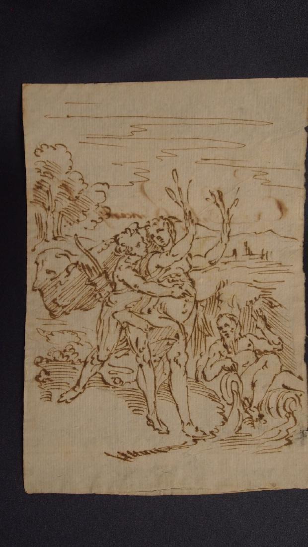 Italian School 17th Century Mythological Scene