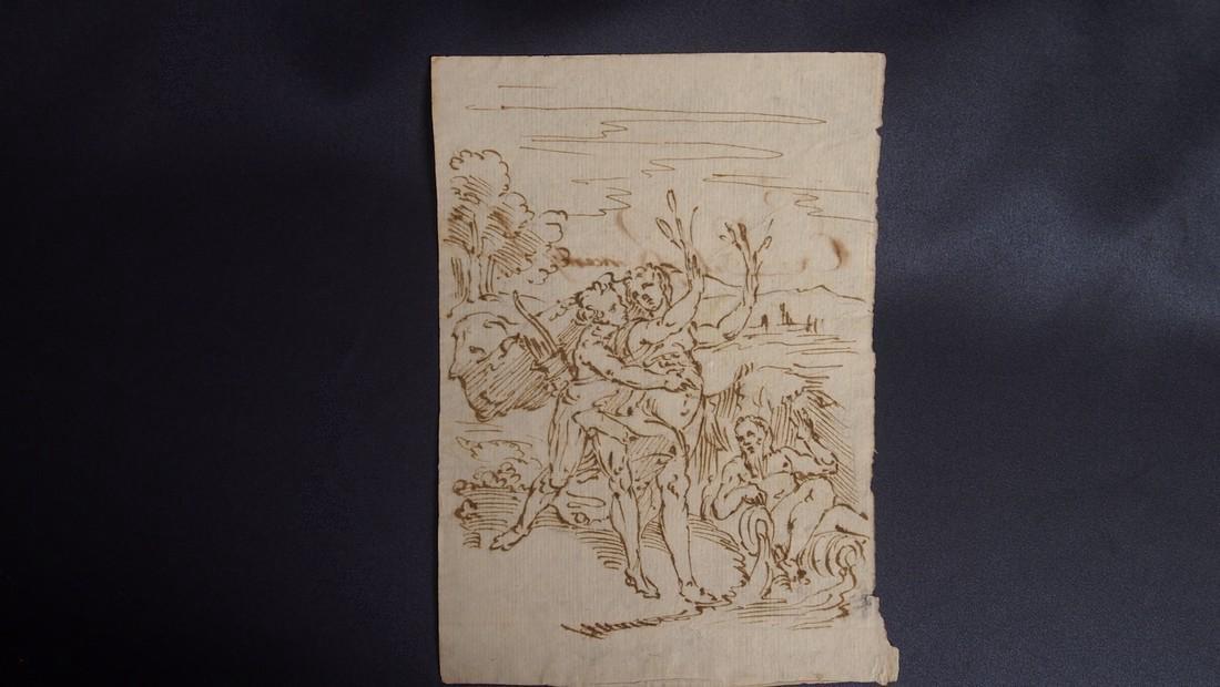 Italian School 17th Century Mythological Scene - 2