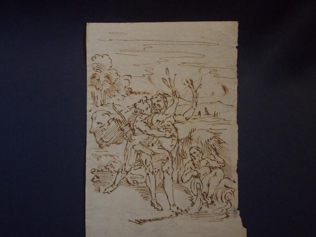 Italian School 17th Century Mythological Scene - 3