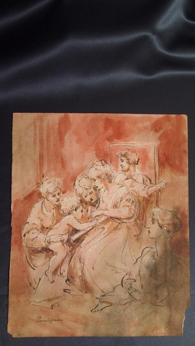 Parmigianino, Attrib. Rome Florence Bologna Blessed
