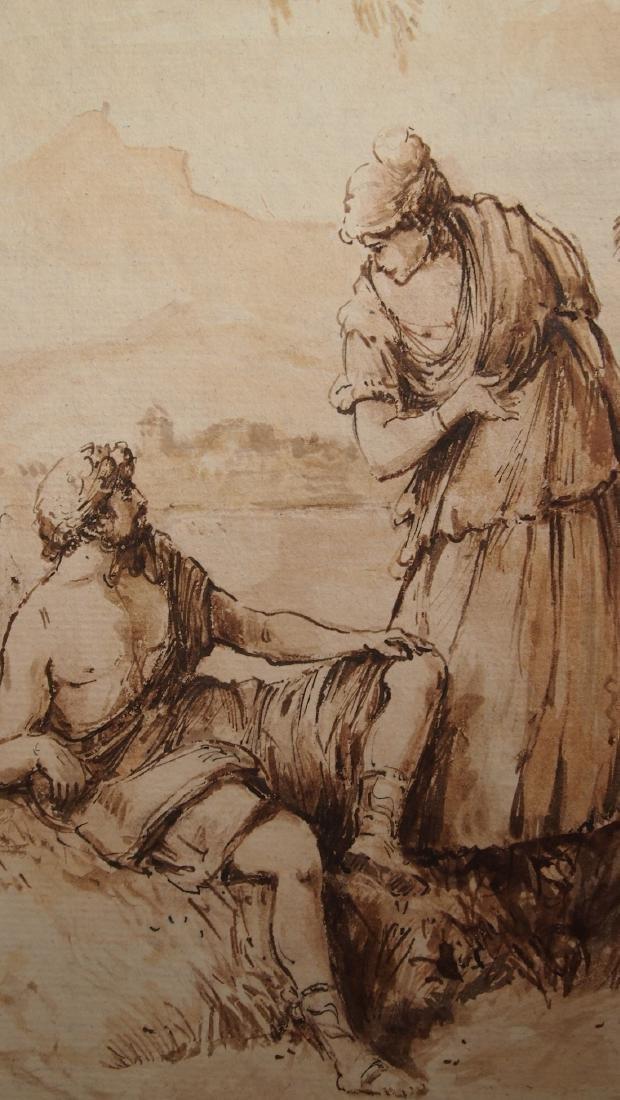 Sebastiano Ricci, Attrib. Pastoral Scene Outside Turin - 2