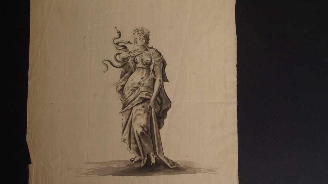 17th Century European Drawing Europa