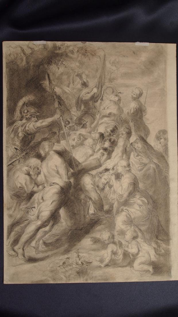 School of Peter Paul Rubens 17th-18th Century Jesus