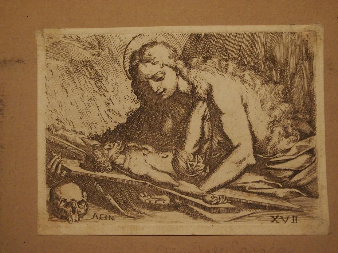 Annible Carracci, Attrib., Italian Penitent Madonna