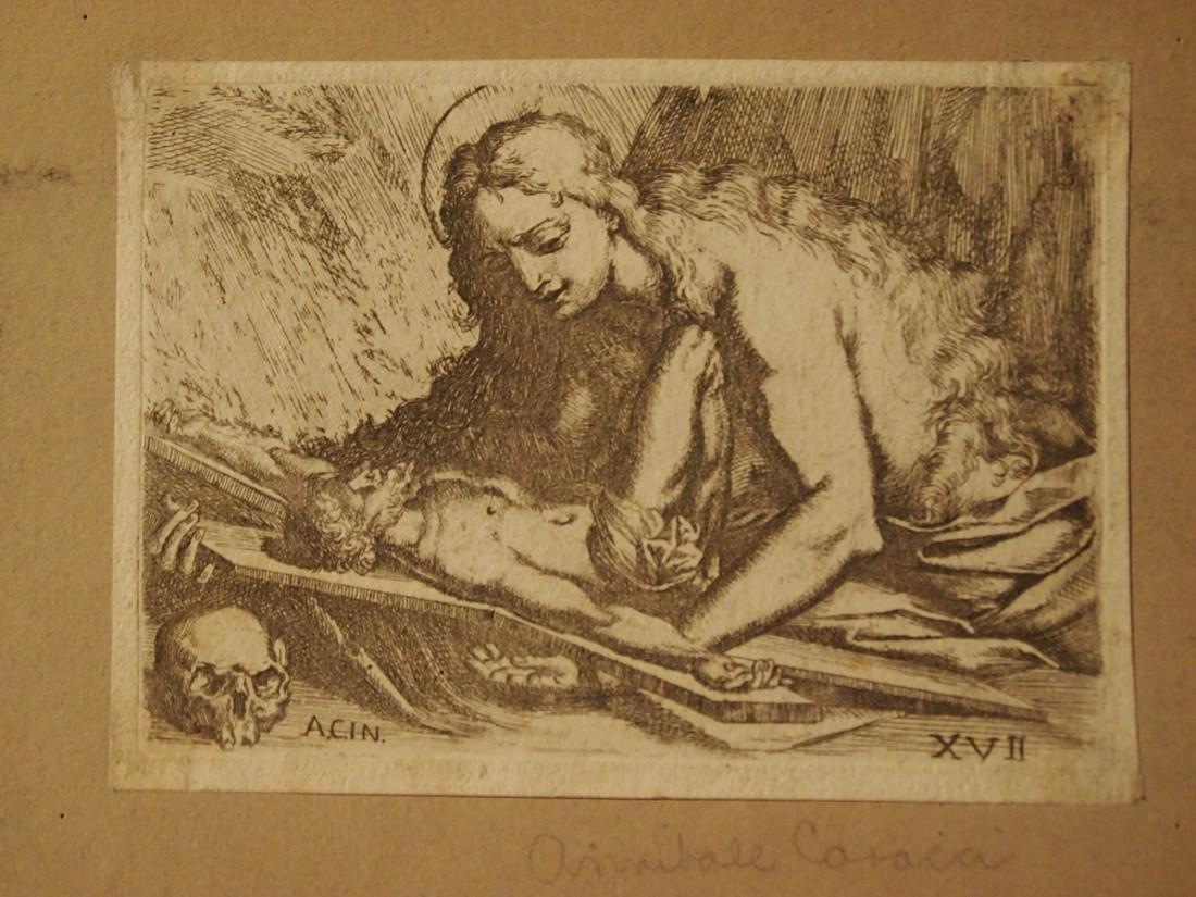 Annible Carracci, Attrib., Italian Penitent Madonna - 3