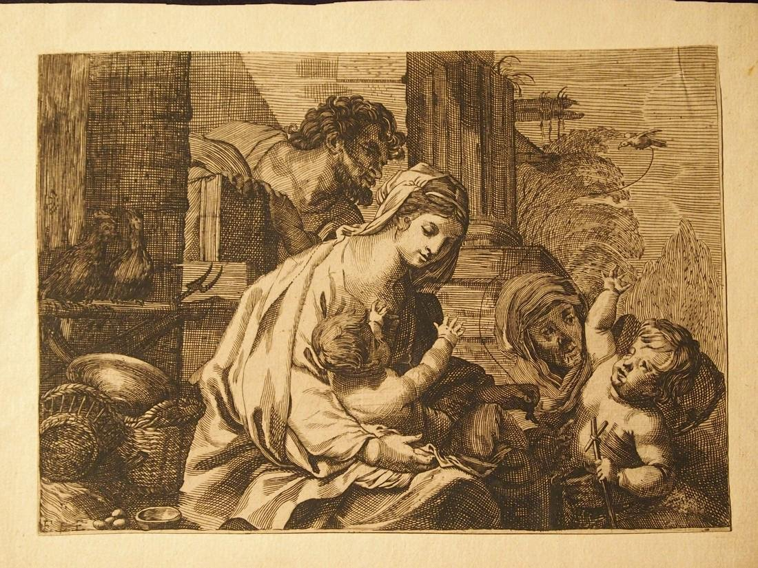 Luca Giordano, Attrib., Italian, the Holy Family