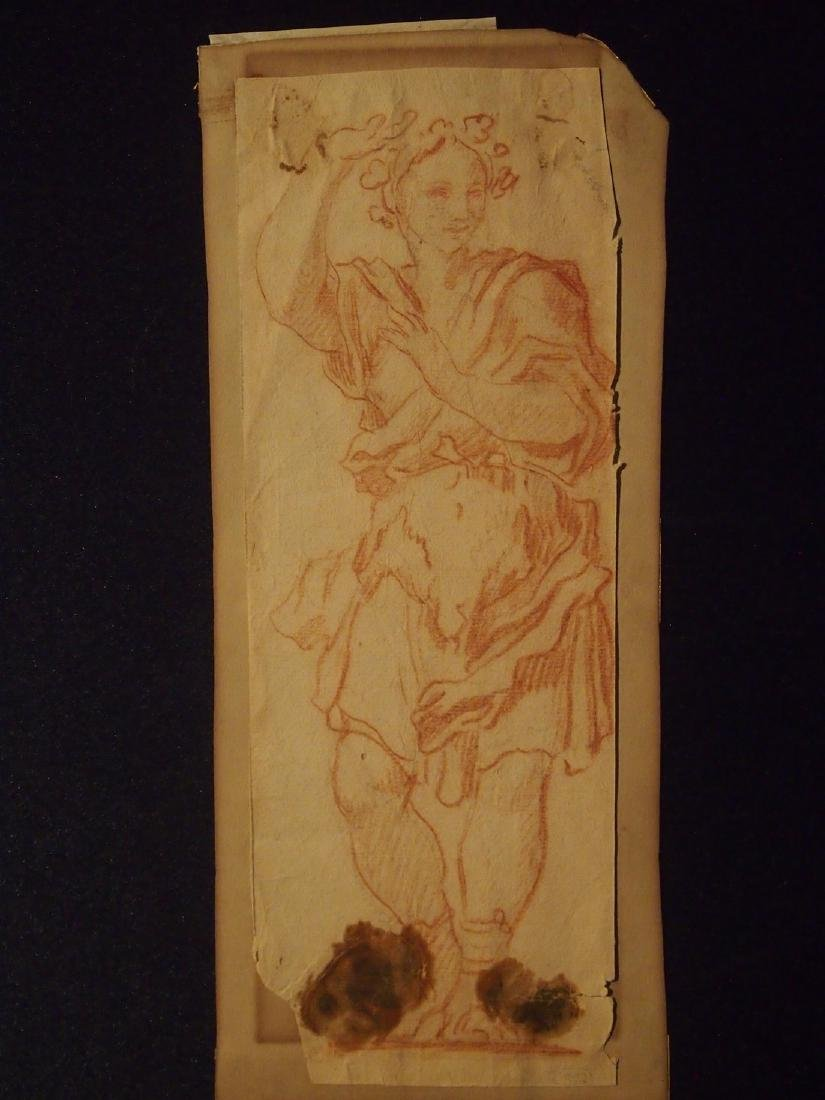 15-16th Century European Drawing Baccus