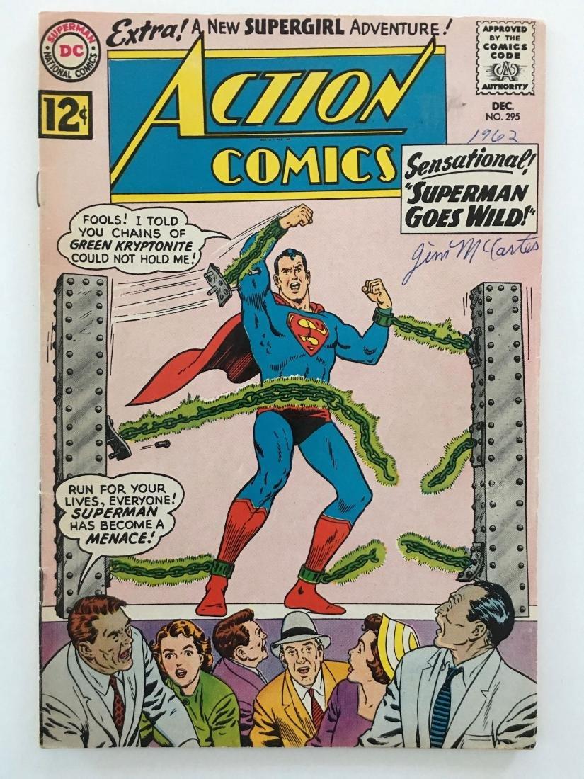 ACTION COMICS #295 - SUPERMAN - VG