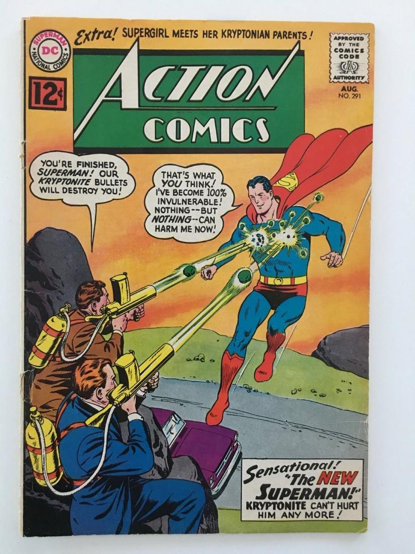 ACTION COMICS #291 - SUPERMAN - G+