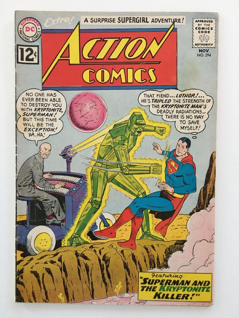 ACTION COMICS #294 - SUPERMAN - VG
