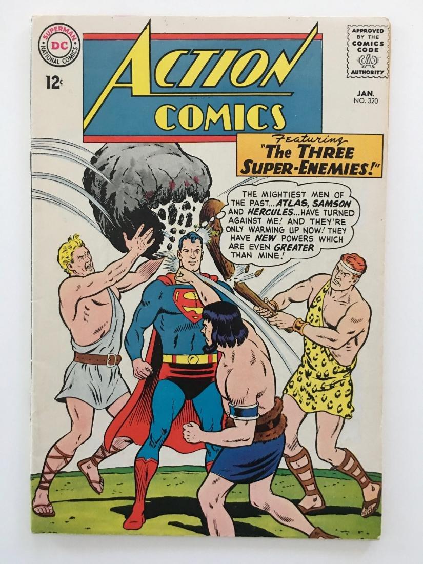 ACTION COMICS #320 - SUPERMAN - VG