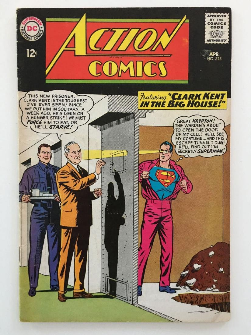 ACTION COMICS #323 - SUPERMAN - G+