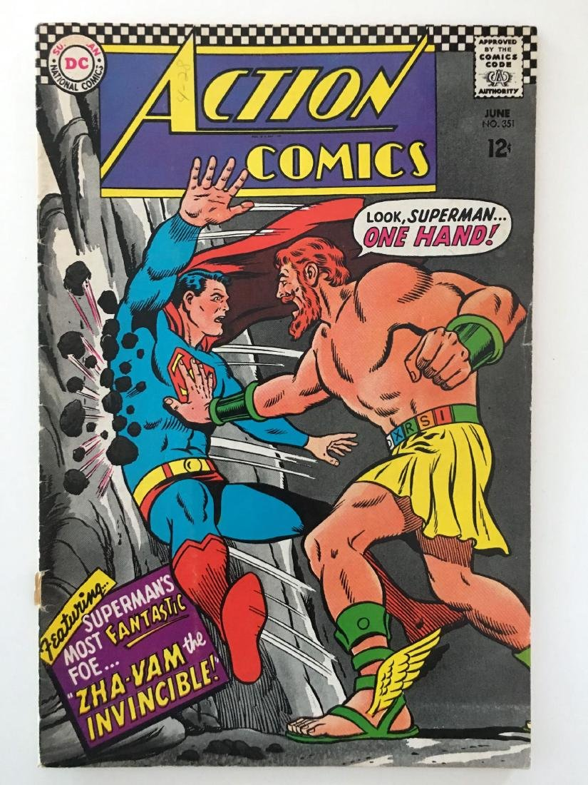 ACTION COMICS #351 - SUPERMAN - VG+