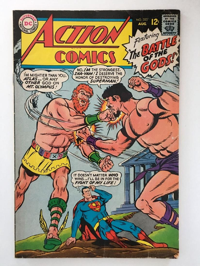 ACTION COMICS #353 - SUPERMAN - VG+