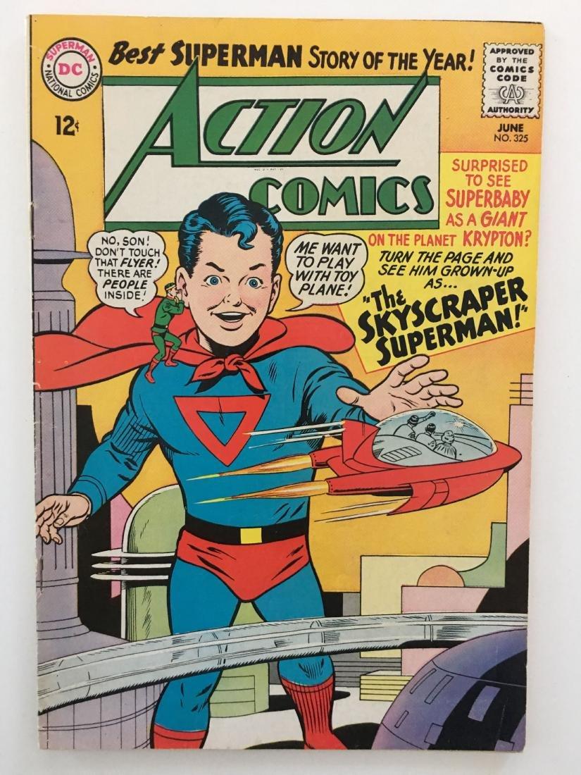 ACTION COMICS #325 - SUPERMAN - VG+