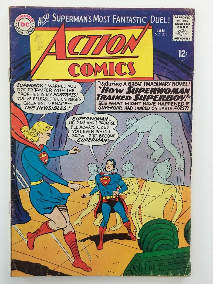 ACTION COMICS #332 - SUPERMAN - VG+