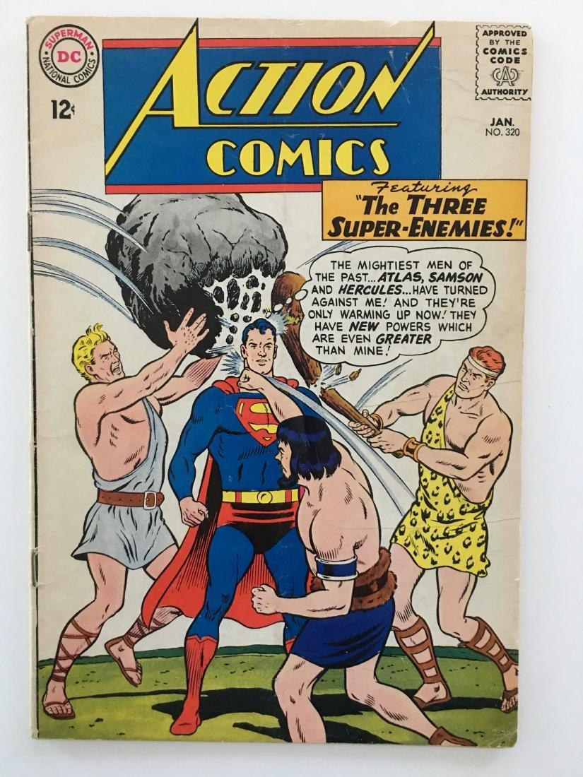 ACTION COMICS #320 - SUPERMAN - F