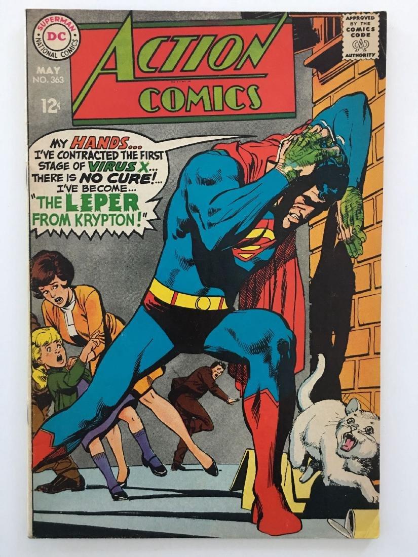 ACTION COMICS #363 - SUPERMAN - F
