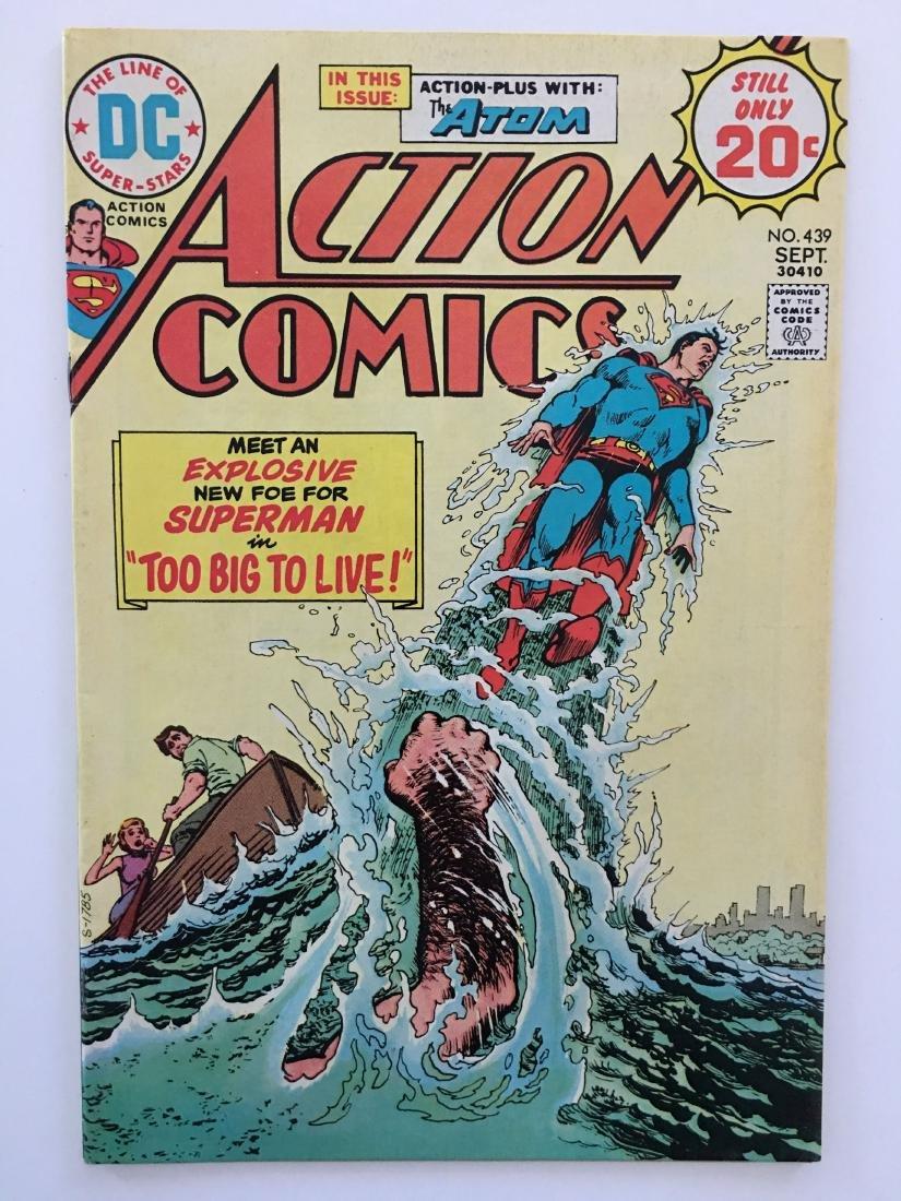ACTION COMICS #439 - SUPERMAN - VF