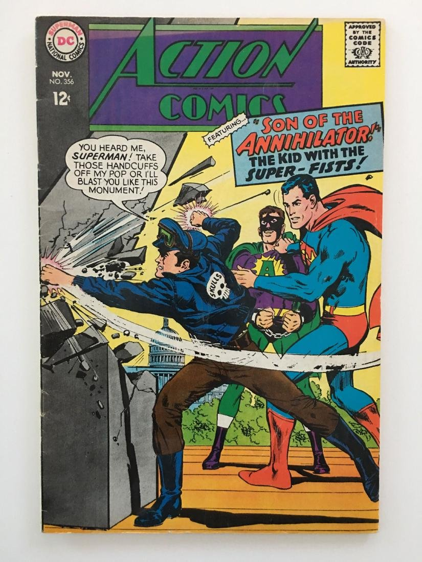 ACTION COMICS #356 - SUPERMAN - F-