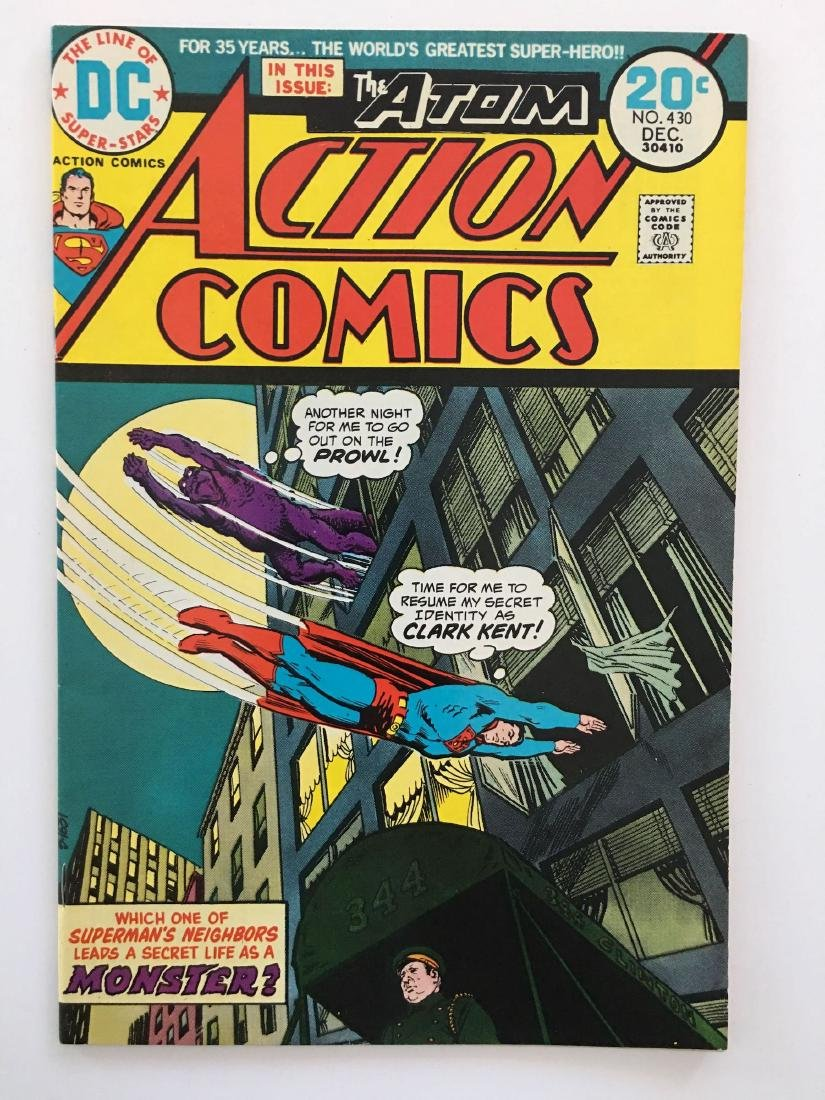 ACTION COMICS #430 - SUPERMAN - VF-