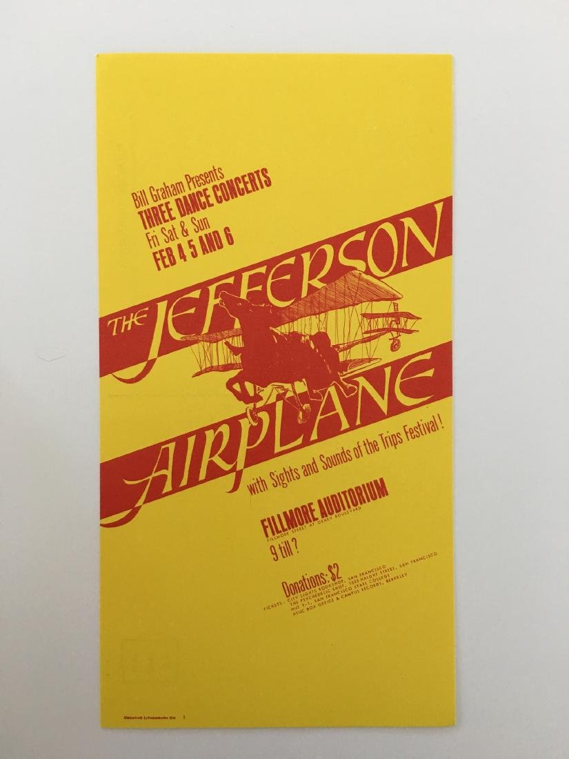 BG01 JEFFERSON AIRPLANE POSTCARD